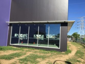 Sunshade on home - privacy screens Newcastle, NSW